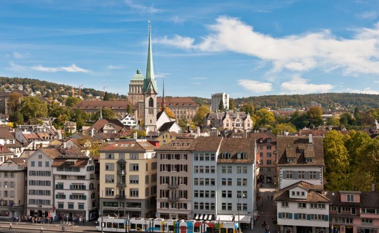 Цюрих — самый стильный мегаполис Европы