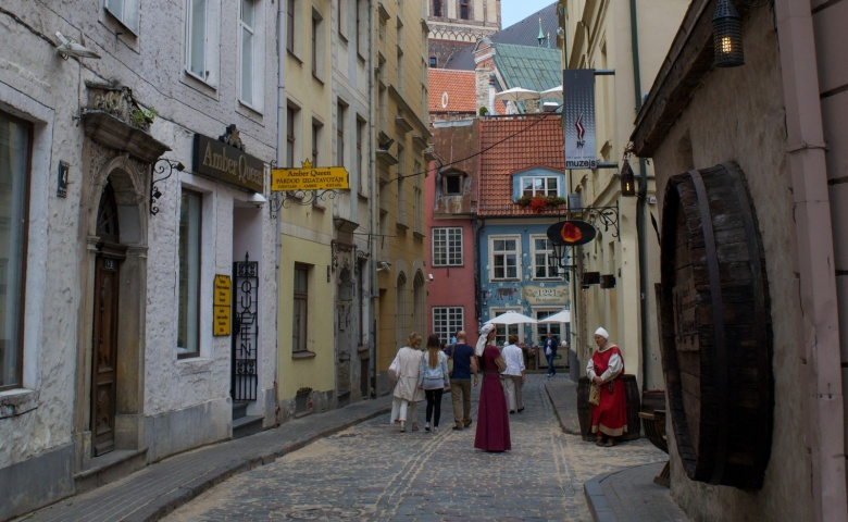 Пешеходная экскурсия по Старой Риге с визитом на органный концерт