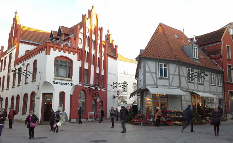 Пешеходная экскурсия по Висмару