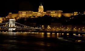 Огни ночного Будапешта