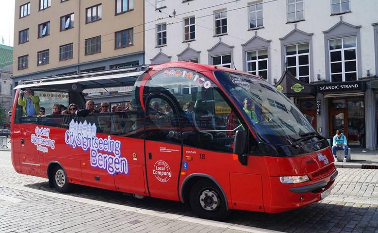 Тур по Бергену на экскурсионном автобусе
