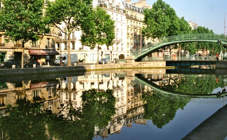 Пешеходная экскурсия на канал Сен-Мартен