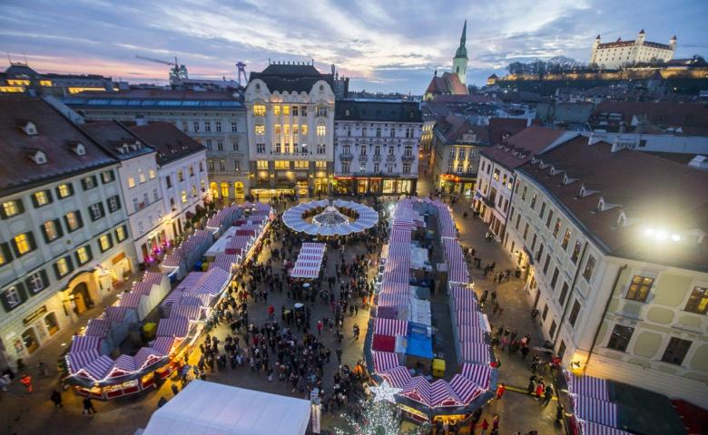 Пешеходная экскурсия по Старому городу Братиславы