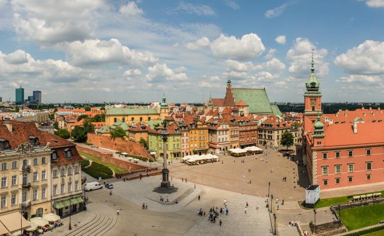 Ежедневная обзорная экскурсия по Варшаве (красный маршрут)