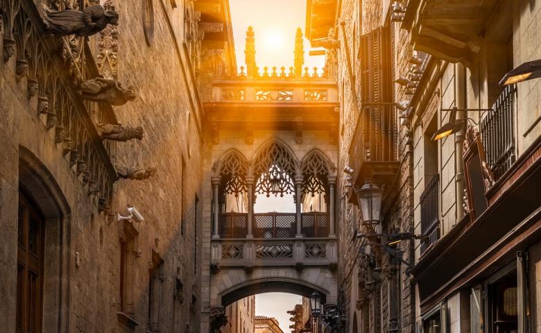 Ежедневная обзорная экскурсия по Барселоне (синий маршрут)