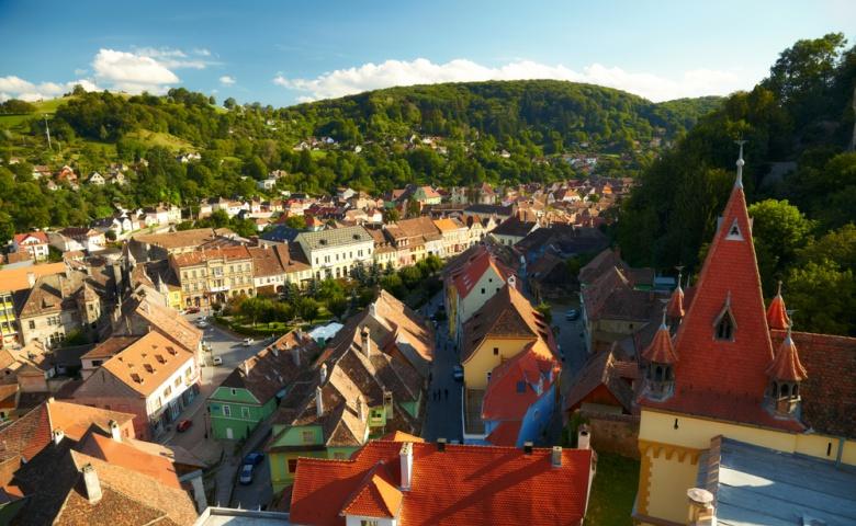 Сигишоара — город классического средневековья