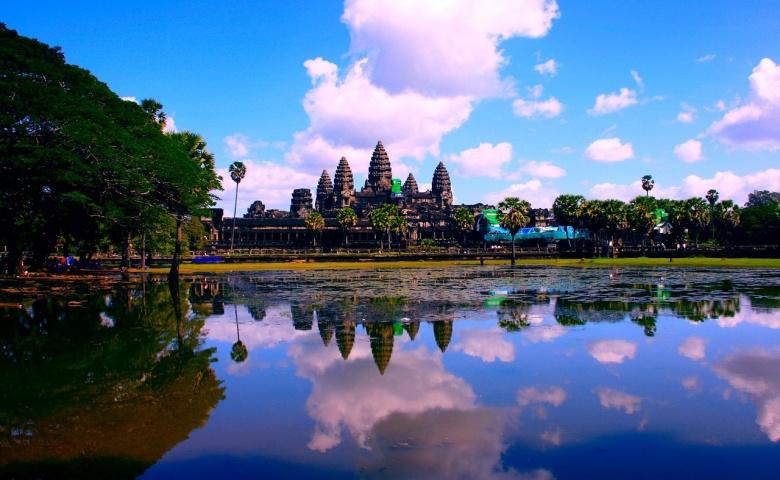 Автомобильная экскурсия из Сиануквиля в Ангкор, парк Пном Кулен и на озеро Тонлесап
