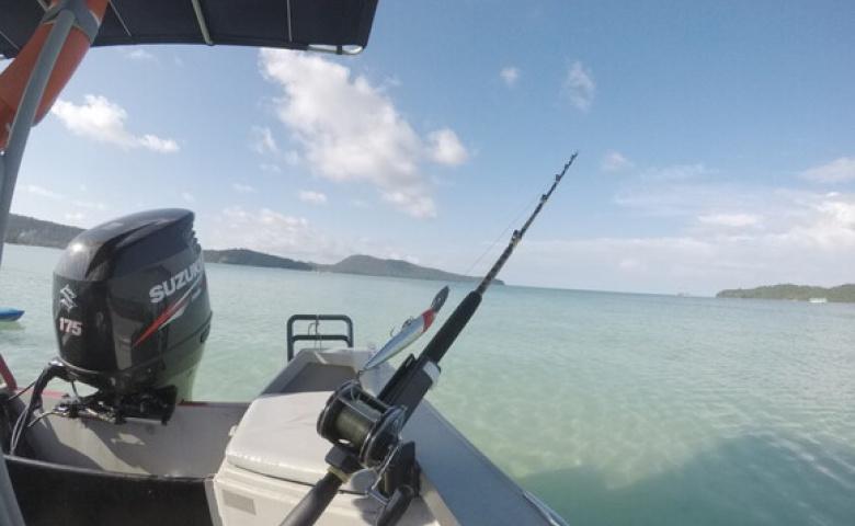 Поездка на рыбалку на Сиамском заливе из Сиануквиля