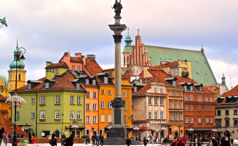 Ежедневная обзорная экскурсия по Варшаве (синий маршрут)