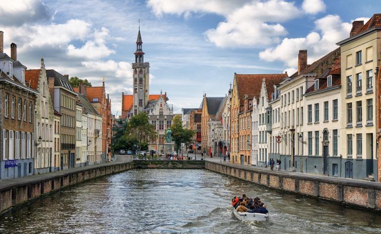 Ежедневная обзорная экскурсия по Брюгге (синий маршрут)