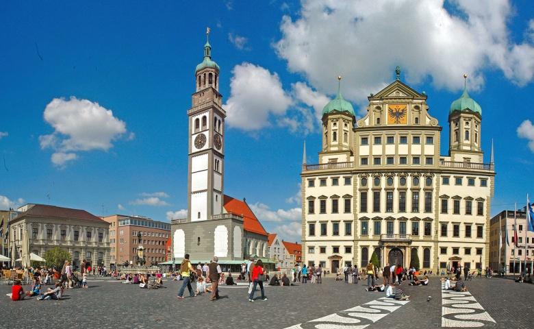 Аугсбург — римский город в Баварии