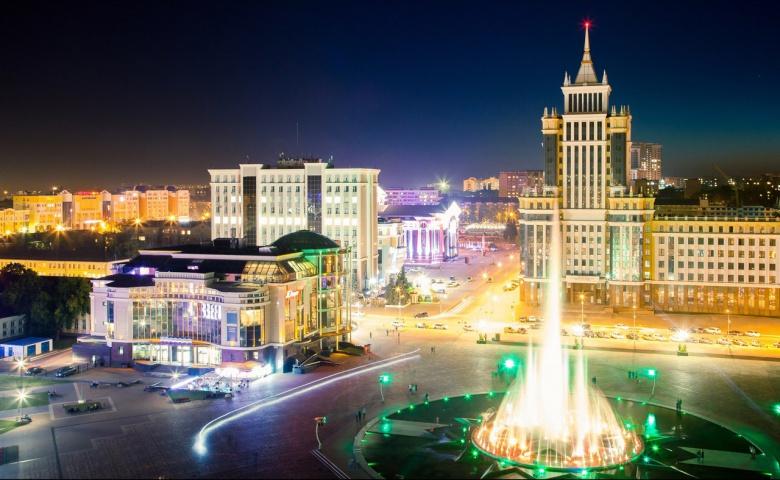 Саранск: город с высоты