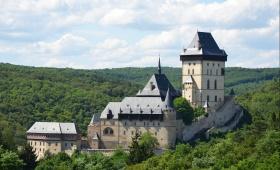 Из Праги в Карлштейн и Конепруские пещеры