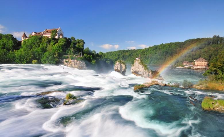Автомобильная экскурсия на Рейнский водопад и по Цюриху