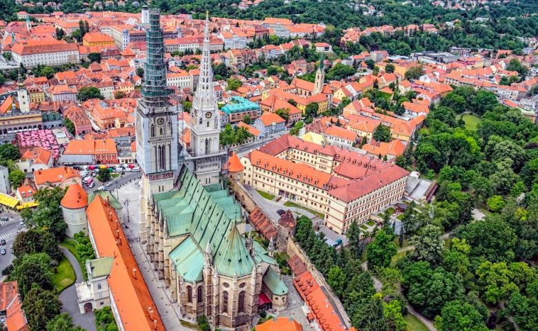 Пешеходная экскурсия по Загребу