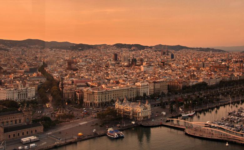 Экскурсия по ночной Барселоне