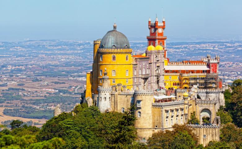 Обзорная экскурсия Синтра — Мыс Кабо да Рока — Лиссабонская Ривьера