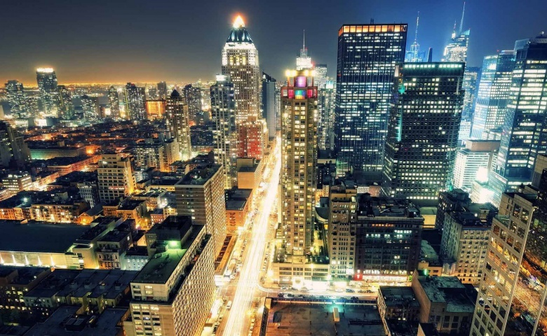 Ночная жизнь Нью-Йорка