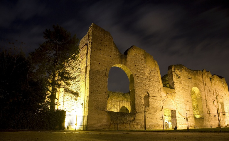a look at rome and the famous monument the baths of caracalla Baths of caracalla, digital reconstruction rome architecture, roman art, ancient romans, roman empire, roma antigua, parthenon, baths, bellisima, construction.