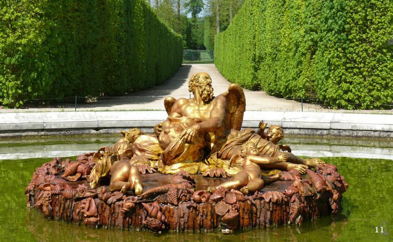 Экскурсия по Версалю