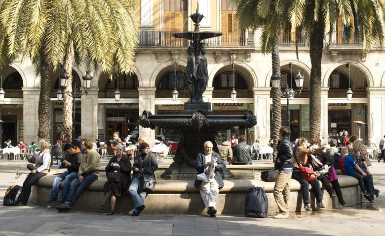 Барселона — город непохожий на другие города мира
