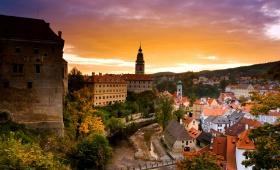 Экскурсия в город Чешский Крумлов и замок Глубока-над-Влтавой