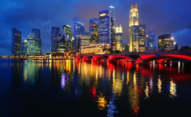 Вечерний Сингапур с круизом