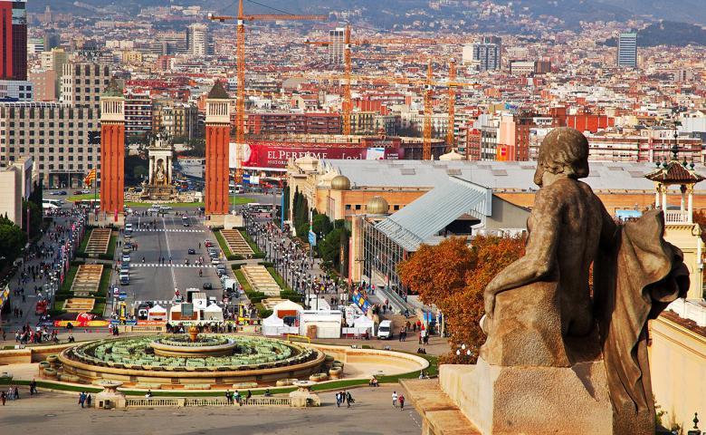Панорамная автоэкскурсия по Барселоне