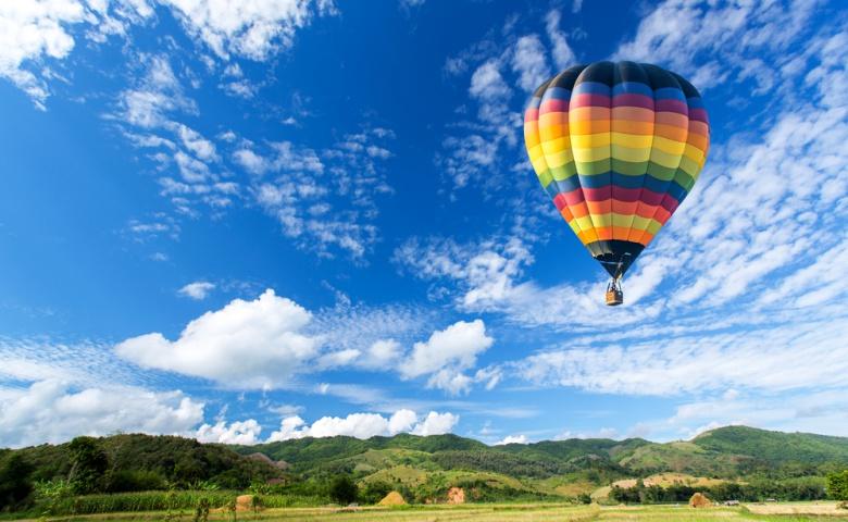 Полет на воздушном шаре над Италией