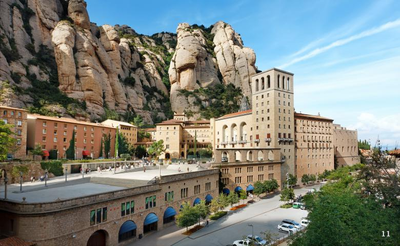 Монастырь Монсеррат — каталонская святыня