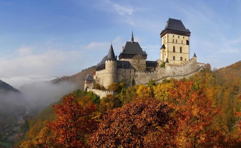 Автомобильная экскурсия в замок Карлштейн