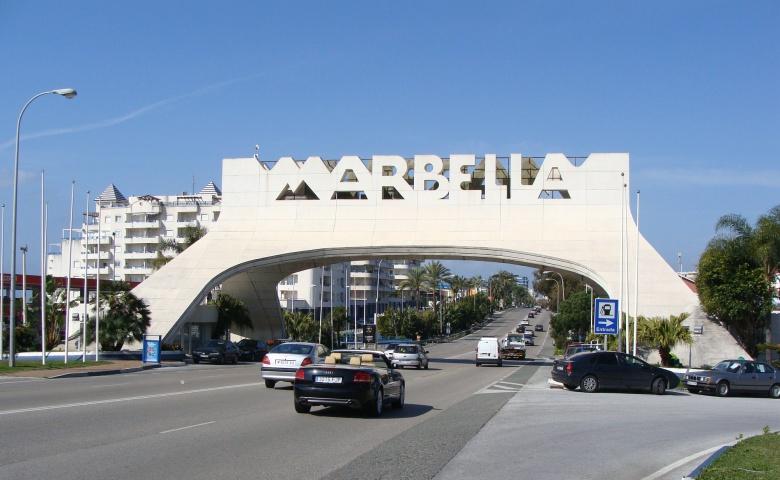 Прогулка по улицам Марбельи