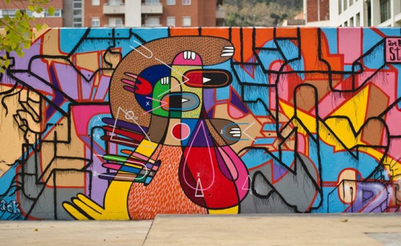 Барселонский Стрит-арт