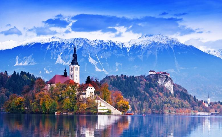 Альпийские озёра Блед и Бохинь