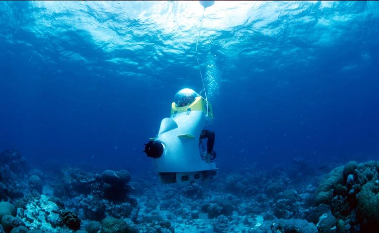Подводное путешествие на скутере