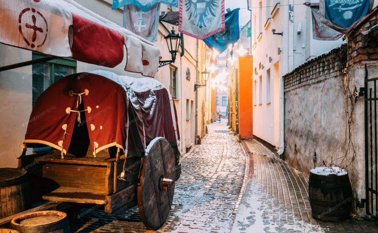 Пешеходная экскурсия по Старому городу Риги