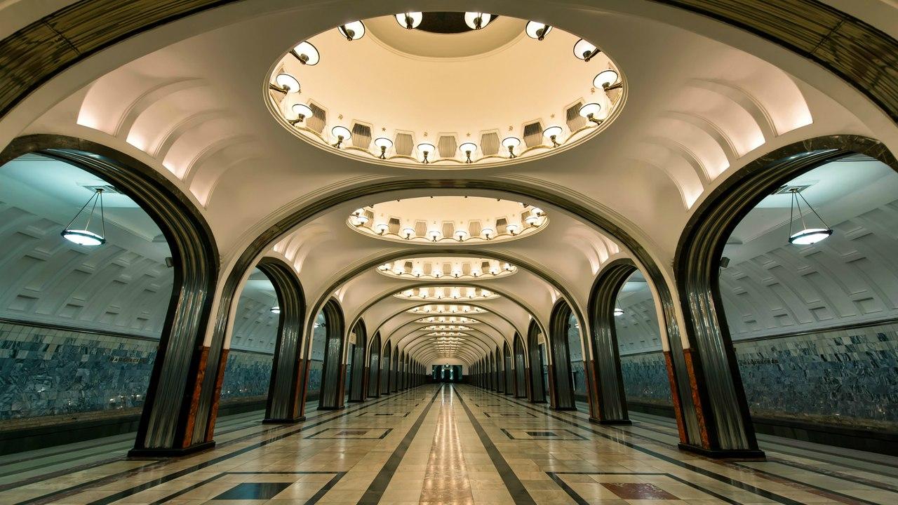 фото метро москва станции